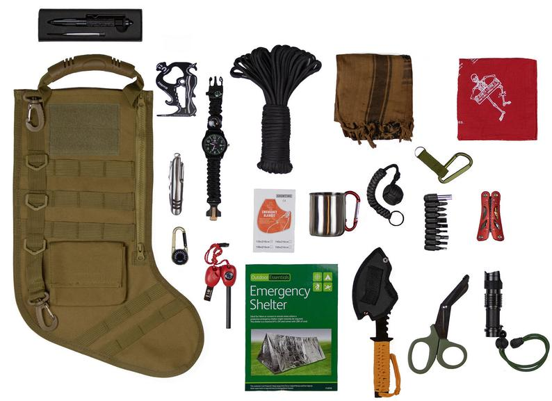 【Buy 2 Free Shiping】2020 The Greast Gifts Tactical Christmas Stocking