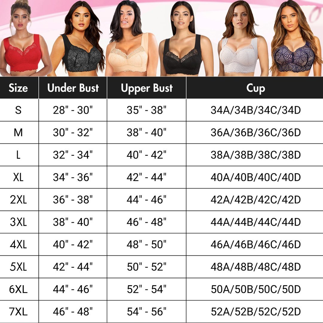 ULTIMATE LIFT Stretch Full-Figure Seamless Lace Cut-Out Bra-BUY 2 FREE SHIPPING