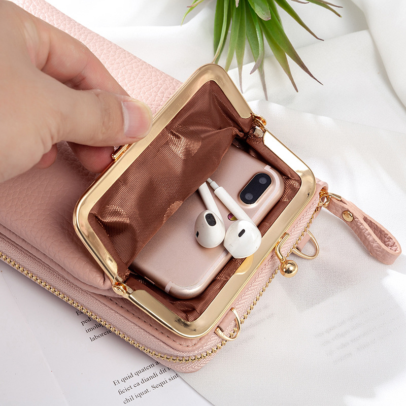 2021 New Lychee Pattern Phone Bag🔥Buy 2 Extra 10% Off