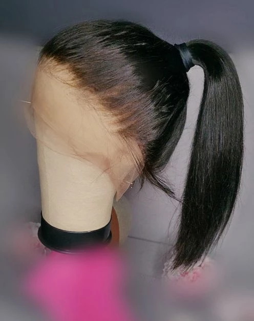 Lace Frontal Wigs Black Hair 613 Black Roots