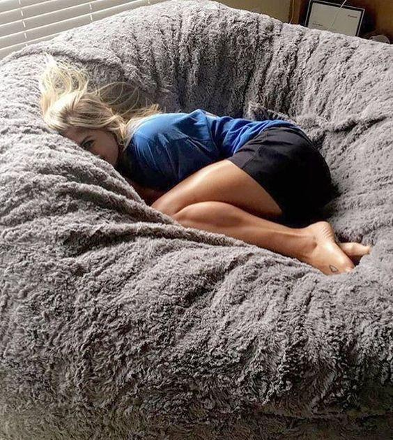 Bean bag with Soft Micro Fiber Cover
