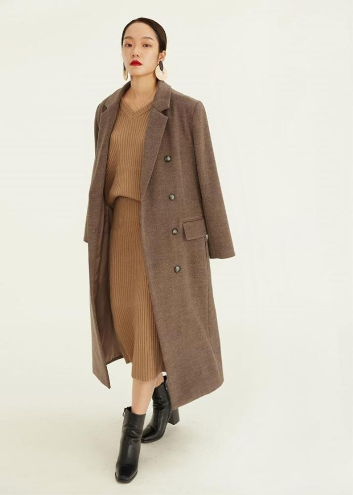 New Listing cashmere wool coat With Good product quality-Casual Outwear 2.11