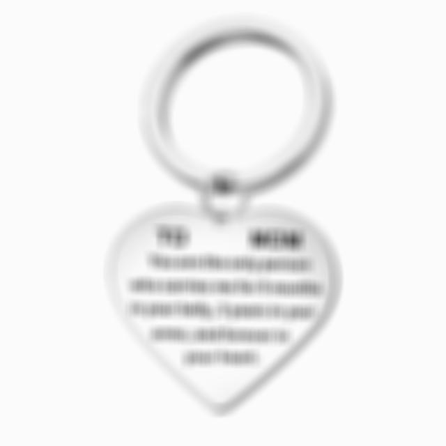 Lmfens--Remember I Love You Mom Keychain
