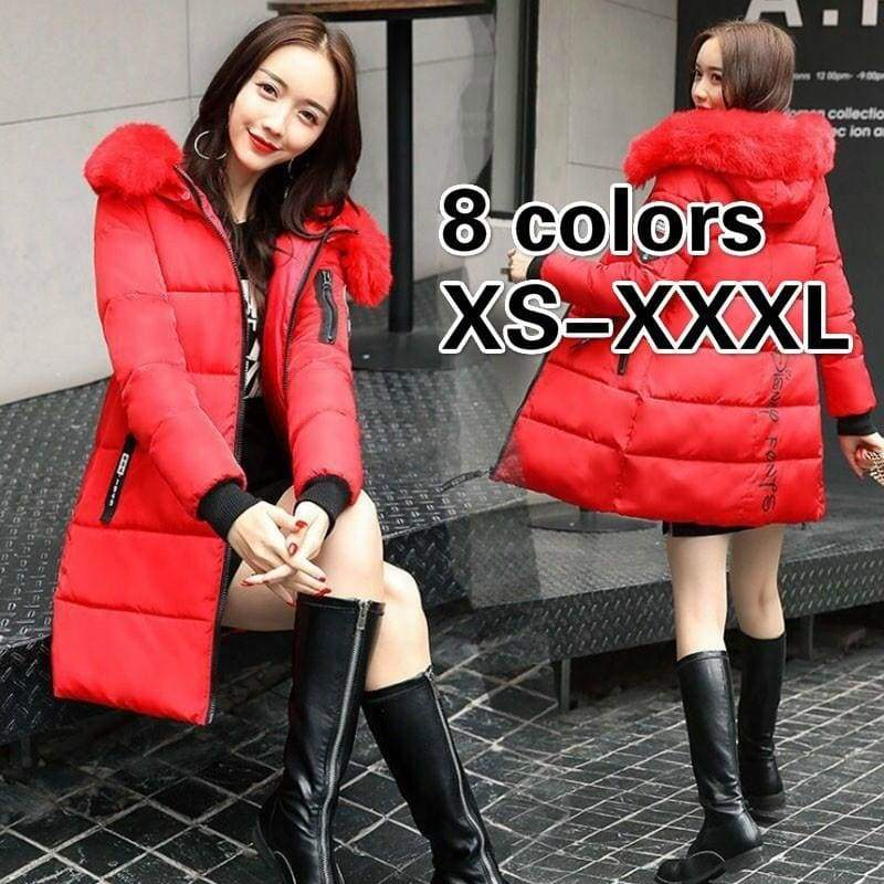 2019 Womens Winter Jackets and Coats Warm Hooded Down Cotton Padded Parkas for Women's Winter Jacket Female Manteau Femme