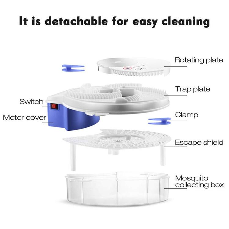 🔥Summer Sale 50% OFF-Revolving Electronic Fly Trap