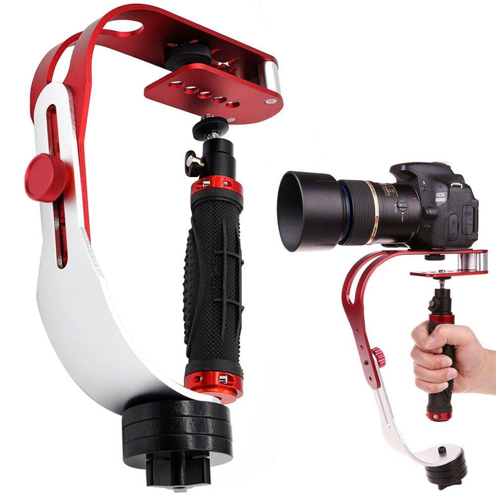 RO Video Camera stabilizer for GoPro, Smartphone, Canon, Nikon - or Any Camera