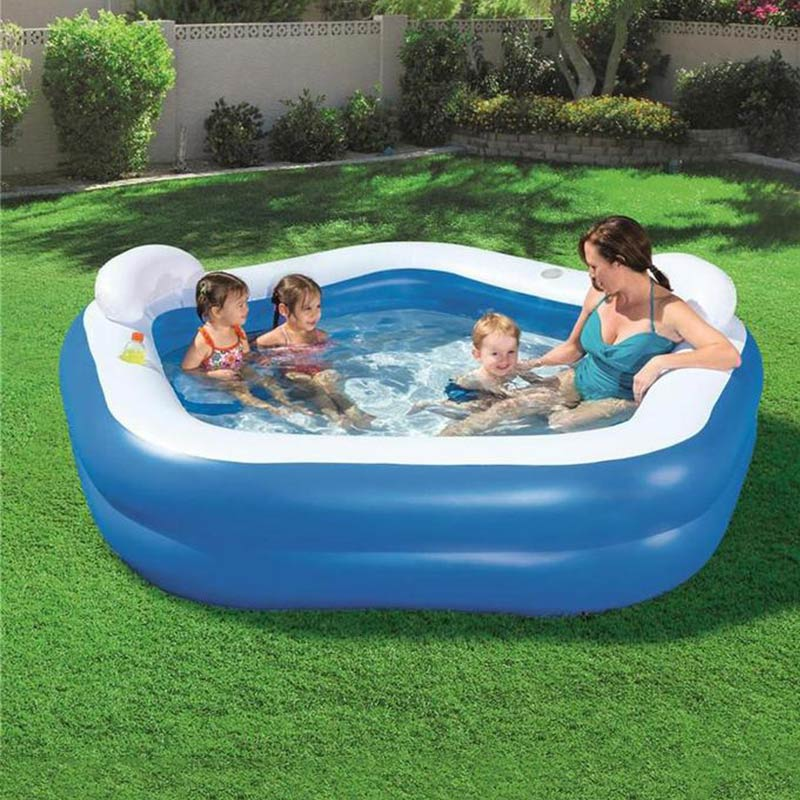 2020 New Swim Center Family Lounge Inflatable Pool Intex | Free Shipping