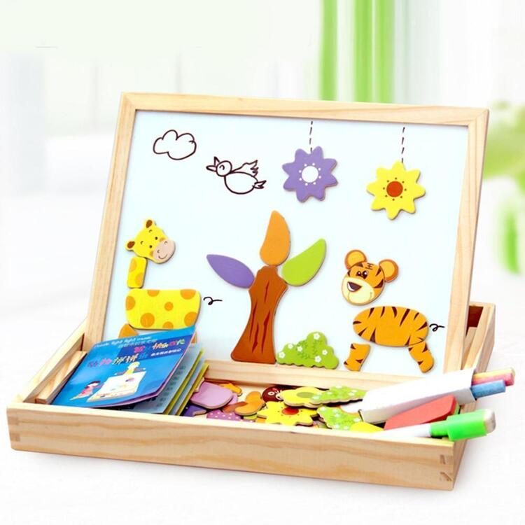 Drawing & Puzzle - Educational Magnetic Board