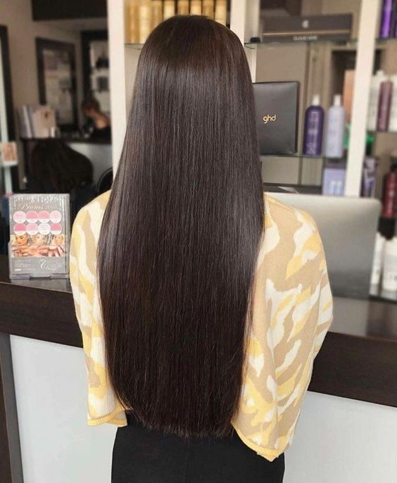 2020 New Straight Wigs Black Long Hair Wigs For Black Ladies Wigs With Bangs For Black Women