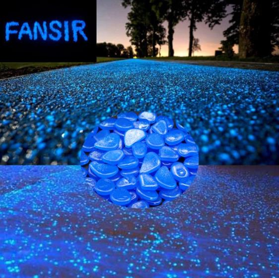 (49% OFF-Today)(100 PC)Solar glowing decorative pebbles