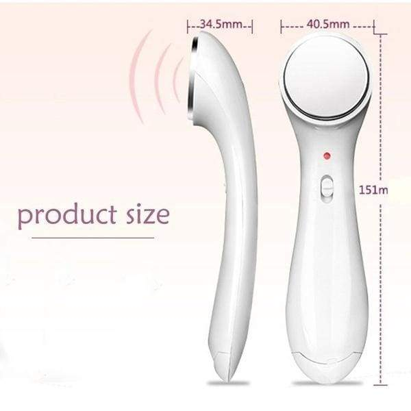 Hot Sale Ultrasonic Ion Face Lift Facial Beauty Device Ultrasound Skin Care Massager Anti-wrinkle Whitening Ionic Face Massager  Makeup Tools