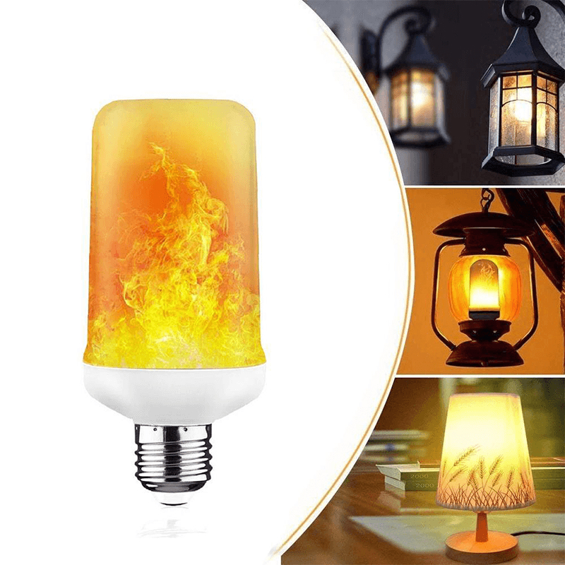 (Only $7.99 Buy 7 Free Shipping)🥳Flame Effect LED Bulb with Gravity Sensor