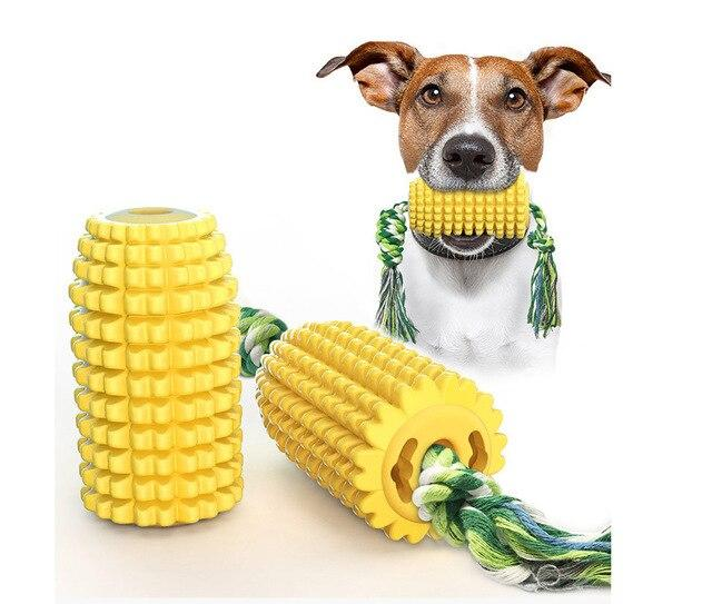 Dog Chew Toy of Corn Shaped