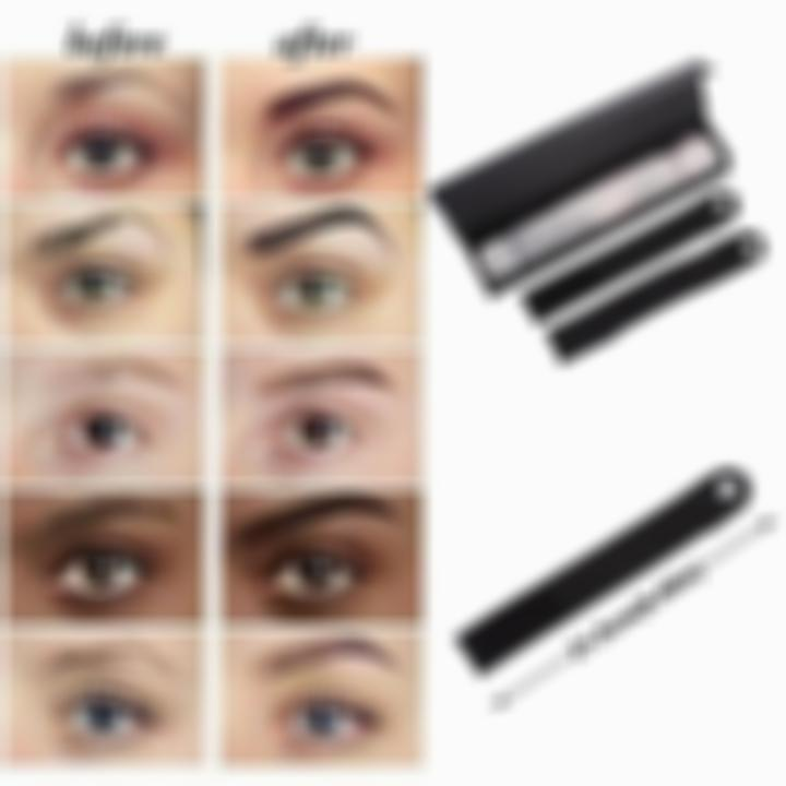 SKRTEN 12 Pcs Different Shapes Eyebrow Template Stencil Make Up Tool