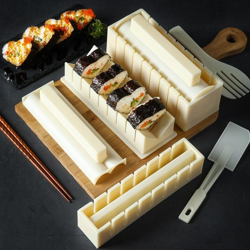Christmas Gift🎅DIY Sushi Maker(1 set of 3 or 10 pcs)-BUY 2 FREE SHIPPING