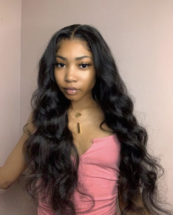 Black Wigs For Black Women Korean Wavy Hairstyle A Black Wig Black Short Wigs For Sale Messy Beach Waves Short Hair