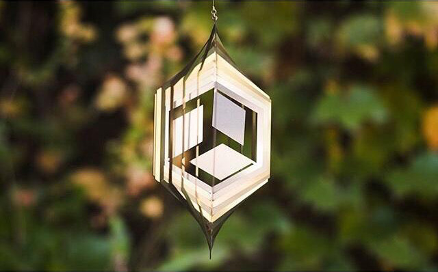 【The most popular Decorative Arts】Reflective Wind Spinner--12