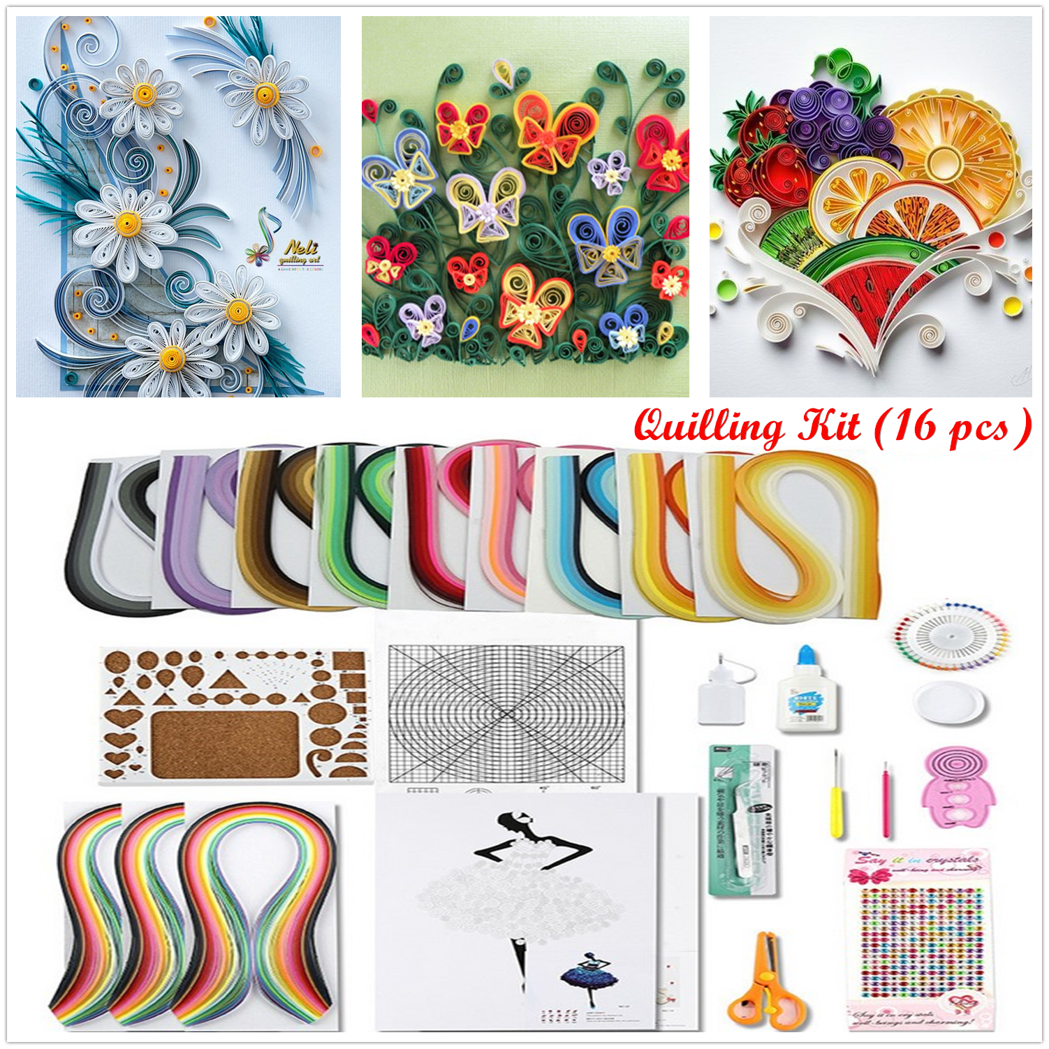 Easy Quilling Tool Kits Supplies DIY Handicraft Craft Tool 【50% OFF Today Only】