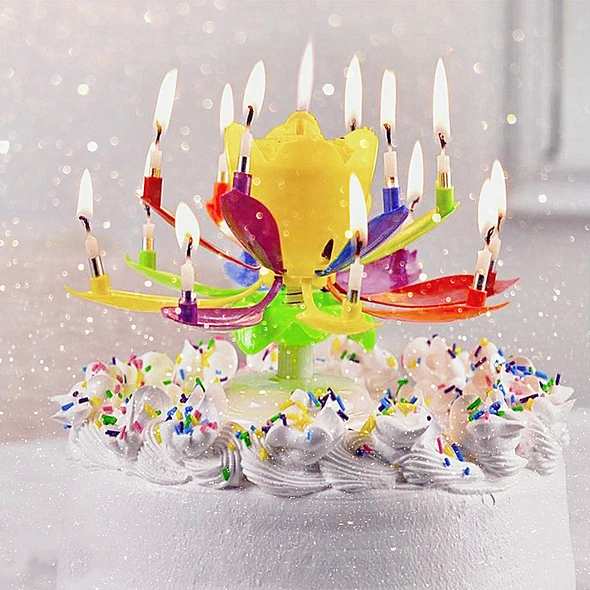 BUY 3 GET 10%OFFMagic Flower Birthday Candle