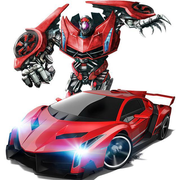 (Buy 2 Free Shipping And Save $5 )-Transformer RC Toy car