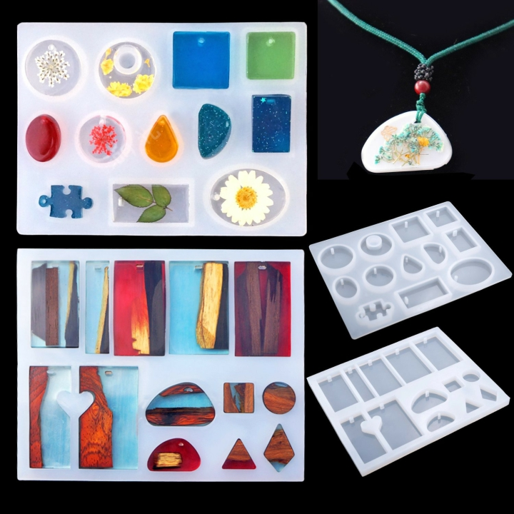 (HOT SALE- Save 50% OFF) DIY Crystal Glue Jewelry Mold Kit