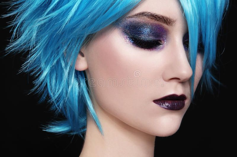 Blue Wigs Lace Frontal Wigs Cheap Human Wigs Adore Blue Black Neon Blue Wig Blue Grey Ombre Hair