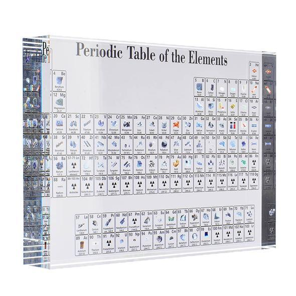 🍁Collectable Periodic Table with REAL Elements 🌳 ❗