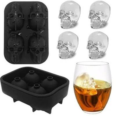 Skull Shape Ice