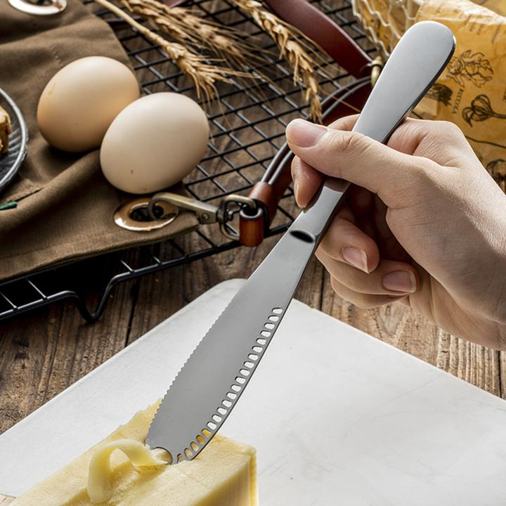 Stainless Steel Butter Spreader, Knife - 3 in 1 Kitchen Gadgets