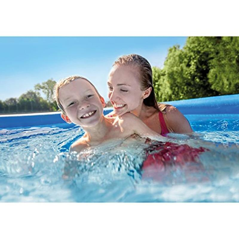 Hot Cool Summer with Air Pump 12ft x 36in Quick Set Inflatable Above Ground Swimming Pools