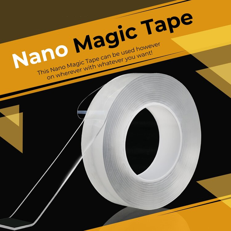 50% OFF TODAY - Nano Magic Tape