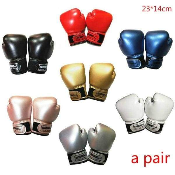 Pearlescent Solid Color Children's Boxing Gloves Sanda Fighting Sandbags Boxing Gloves