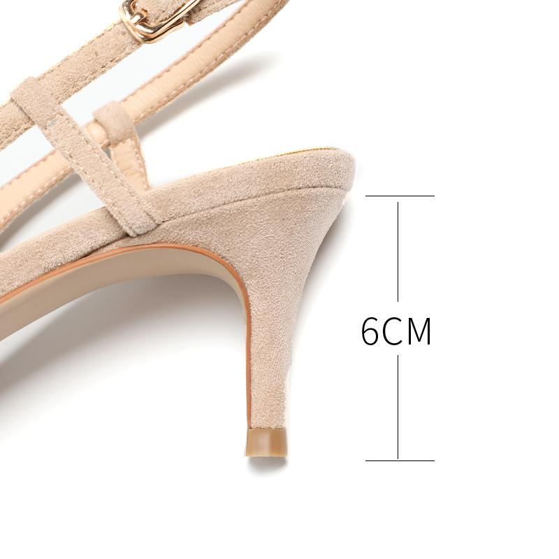 Shoes ladies 2019 spring 6cm high heel shoes