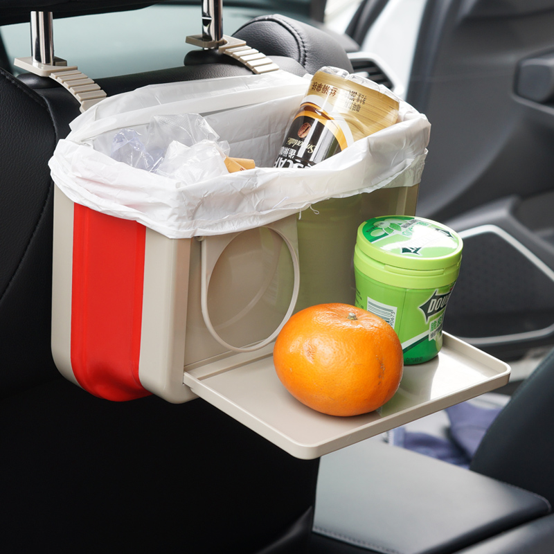 Car Folding Storage Box Cup Holder Hanging Organizer