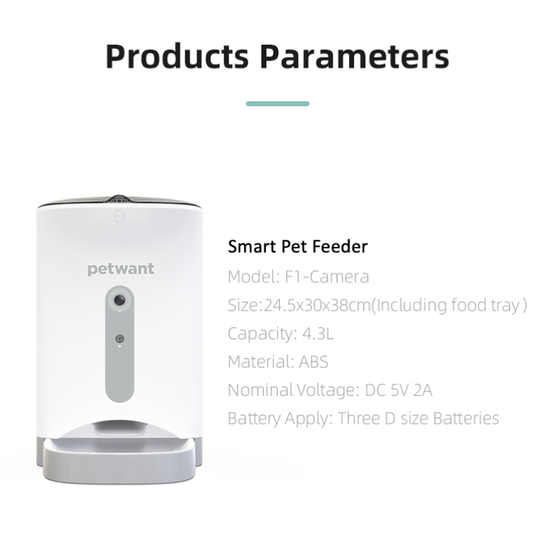 Automatic Timer Pet Feeder - Feeder that Dispenses Dog and Cat Dry Food