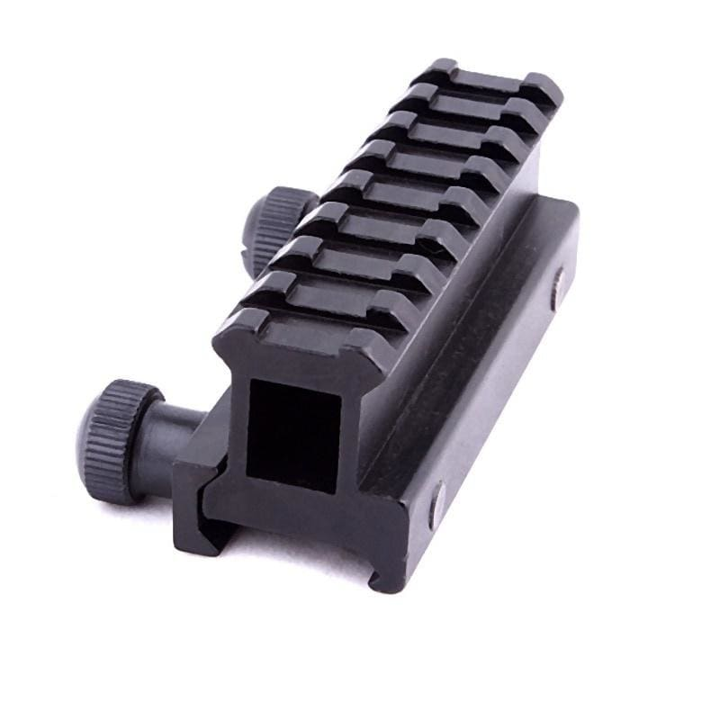 New Arrival Dovetail Weaver Picatinny Rail Pistol Airsoft Gun Hunting Generic Hunting Scope Mount Adapter 20mm Riser Base