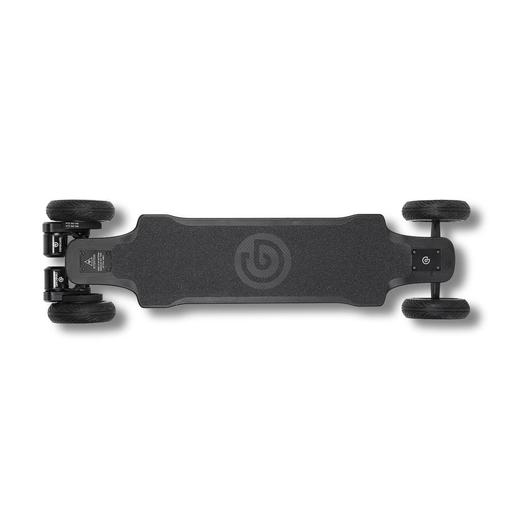 Ownboard Carbon AT  | All Terrain Electric Skateboard | Dual Belt Motor