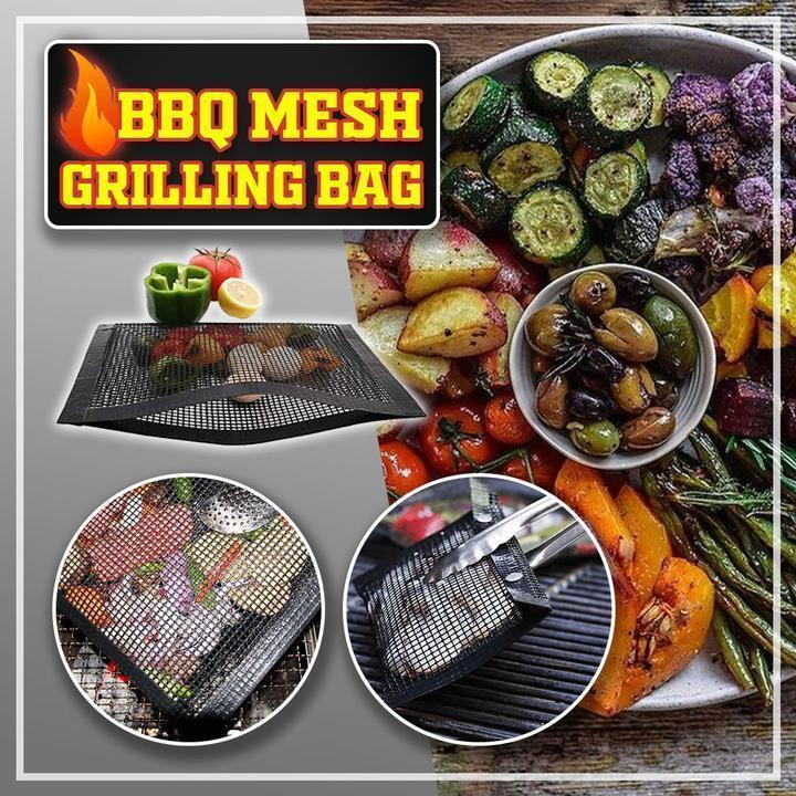 50% OFF-Last day</br> promotion-Non-Stick BBQ Mesh Grilling Bag