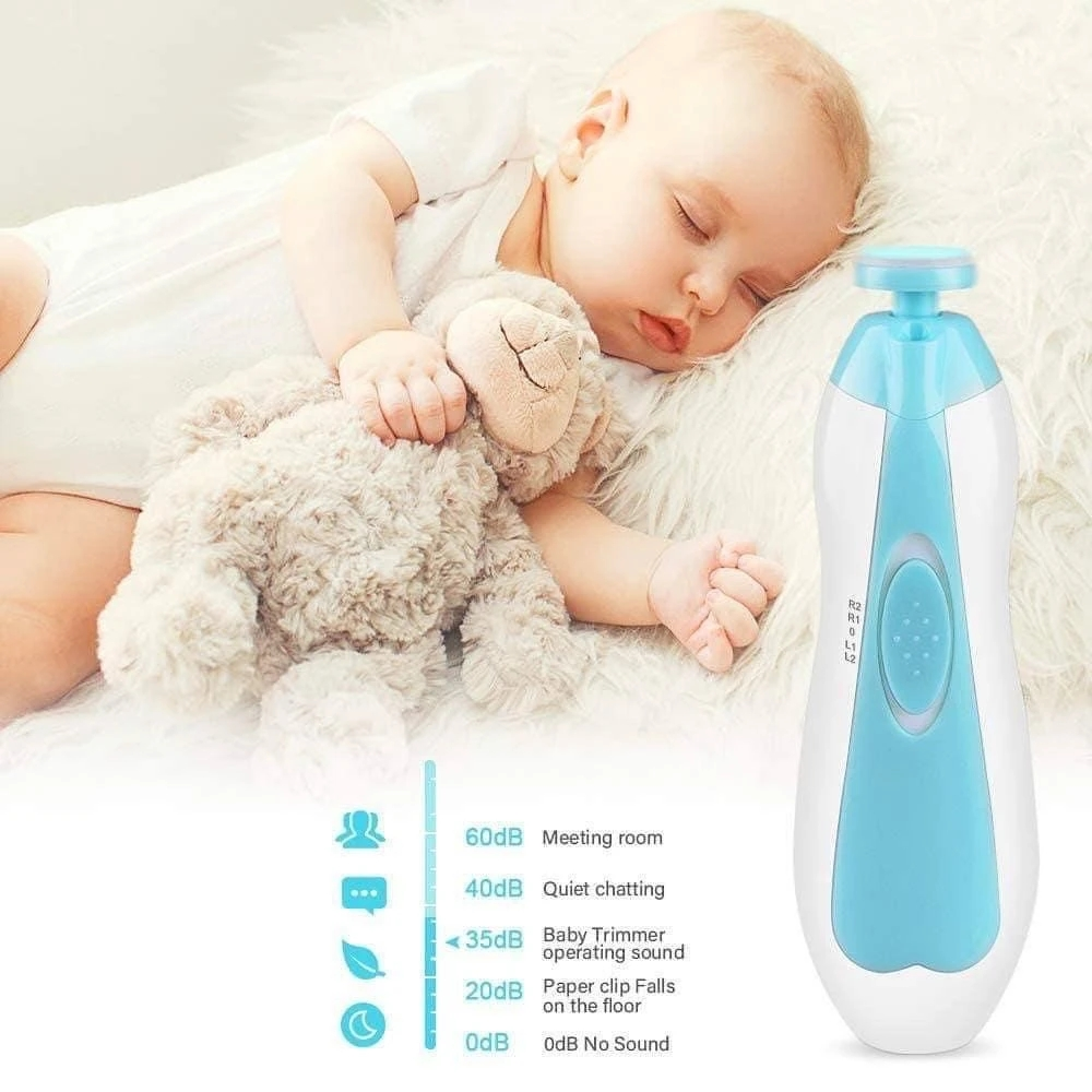 Electric Baby Nail Trimmer Pro