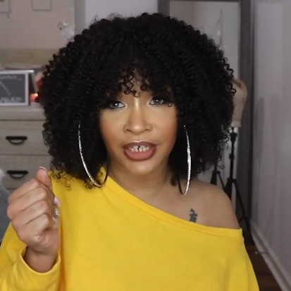 Special OFF | Natural Wig, Best Wig Ever Afro Type Hair