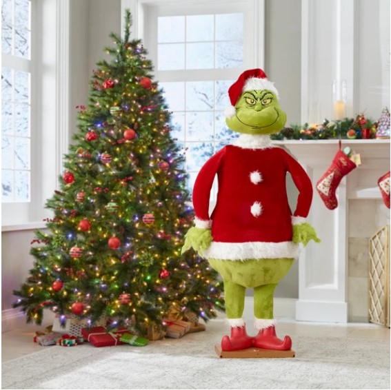 Factory Outlet 40% OFF Christmas Ornament The Lifelike Animated Grinch