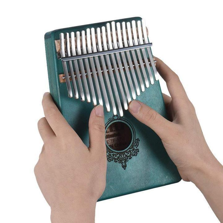 50% OFF TODAY--17 keys Kalimba Thumb Piano