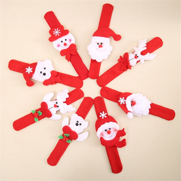 Christmas Clap Ring----12 pcs Included Per Pack