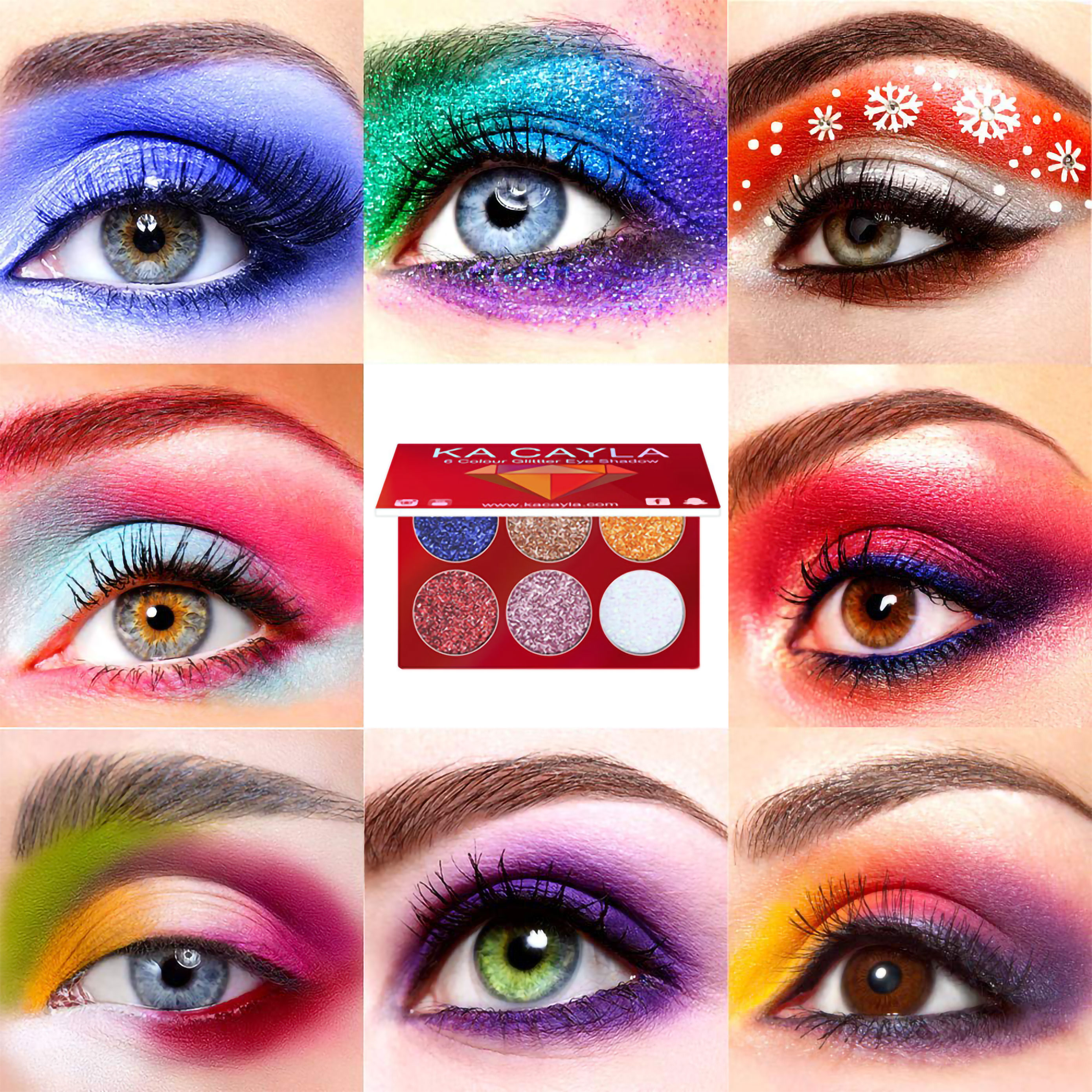 Buy 3 or more (15%OFF+Free shipping)-Glitter Eyeshadow Palette