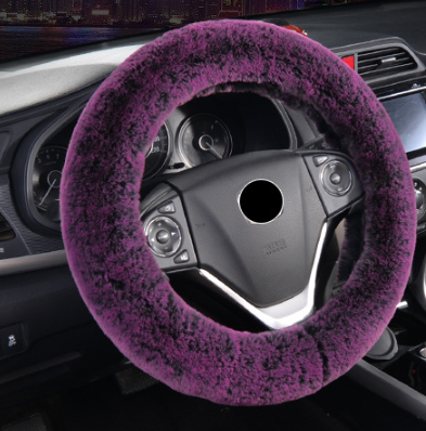 The Softest and Finest Plush Steering Wheel Cover