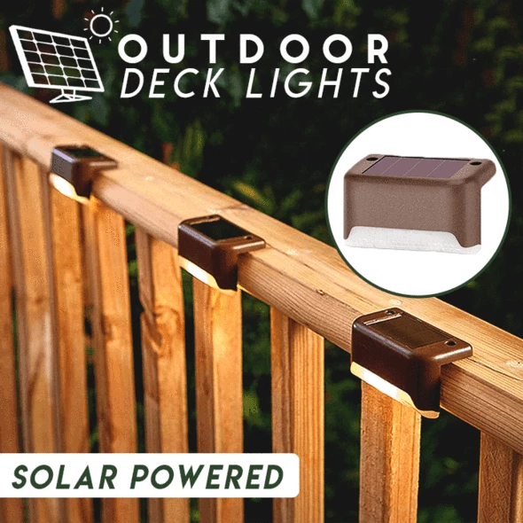 Last Day Promotion!! - Outdoor Solar Deck Lights