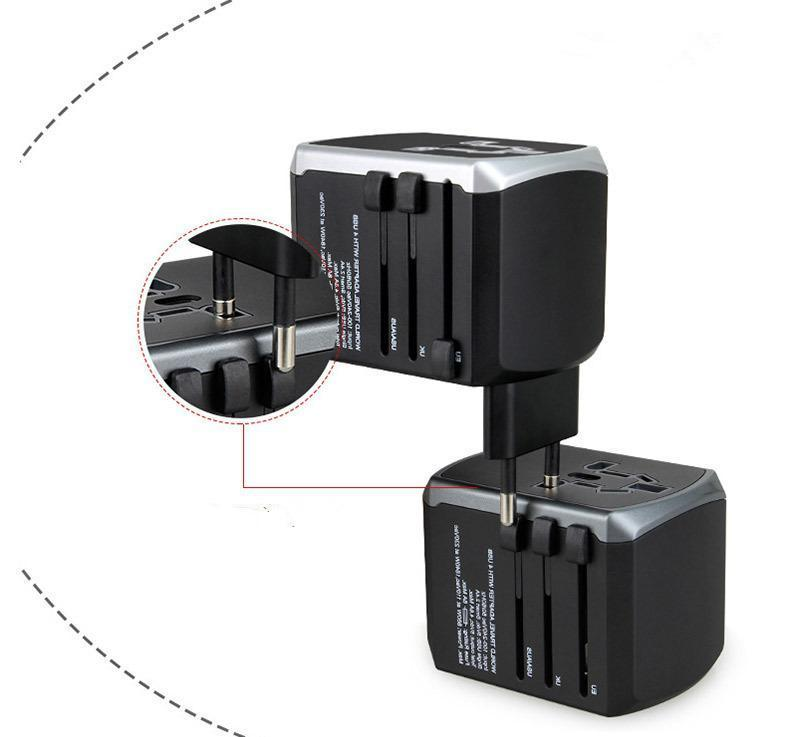 40W 4-Port Multi USB Wall Charger