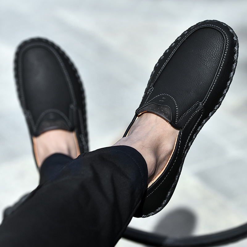 Men Casual Shoes Loafers Sneakers New Men Fashion Leather Comfortable Loafers Casual Shoes Men Shoe