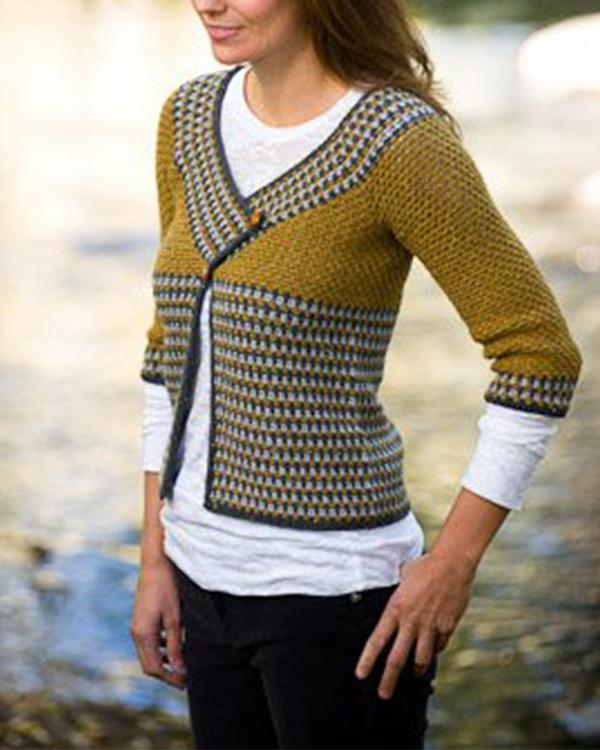 Crochet Riverstone Cardigan