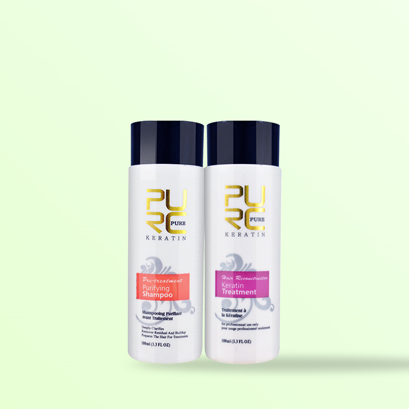 Keratin Hair Shampoo and Conditioner for Frizzy, Dry and Rough Hair